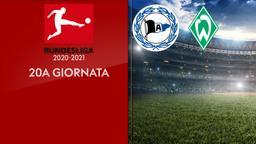 Arminia Bielefeld - Werder Brema. 20a g.