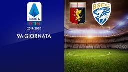 Genoa - Brescia. 9a g.