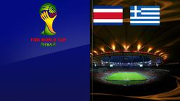Costa Rica - Grecia. Ottavi di finale
