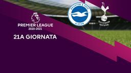Brighton & Hove Albion - Tottenham. 21a g.