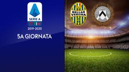 Verona - Udinese. 5a g.