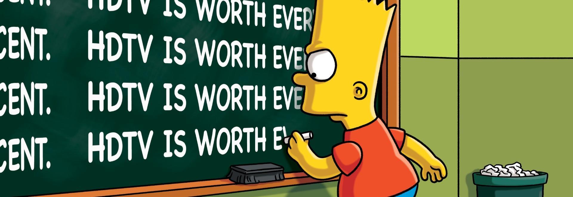 Dai e ridai, Bart, quanti danni fai!
