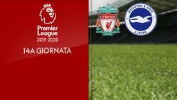 Liverpool - Brighton & Hove Albion. 14a g.