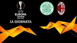 Celtic - Milan. 1a g.