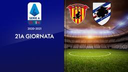 Benevento - Sampdoria. 21a g.