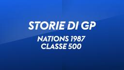 Nations 1987. Classe 500