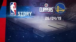 LA Clippers - Golden State 26/04/19. Gara 6