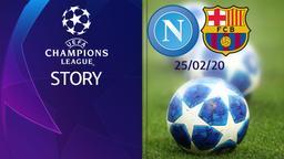 Napoli - Barcellona 25/02/20. Ottavi Andata