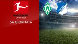 Werder Brema - Hoffenheim. 5a g.