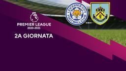 Leicester City - Burnley. 2a g.