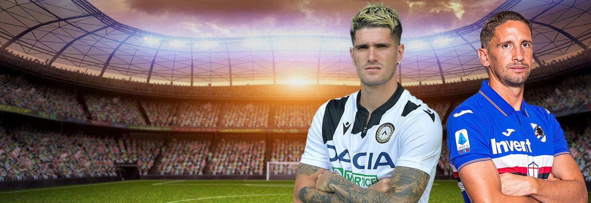 Udinese - Sampdoria. 32a g.