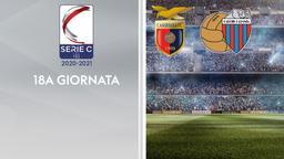 Casertana - Catania. 18a g.