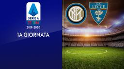 Inter - Lecce. 1a g.