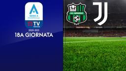 Sassuolo - Juventus. 18a g.