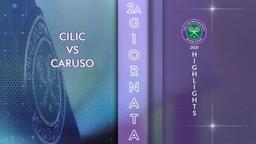Cilic - Caruso. 2a g.