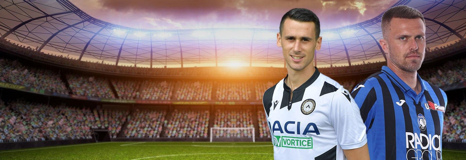 Udinese - Atalanta. 28a g.
