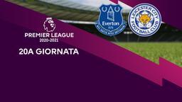 Everton - Leicester City. 20a g.