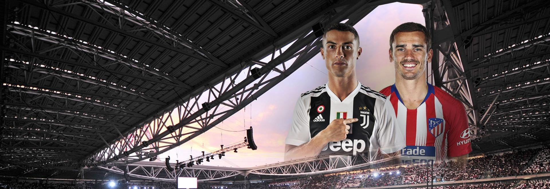 Juventus - Atletico M.. Ottavi. Ritorno