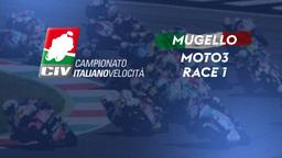 Moto3 Mugello. Race 1