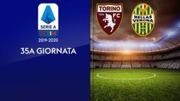 Torino - Verona. 35a g.