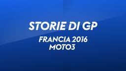 Francia, Le Mans 2016. Moto3