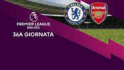 Chelsea - Arsenal. 36a g.