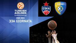 CSKA Mosca - Khimki Mosca. 33a g.