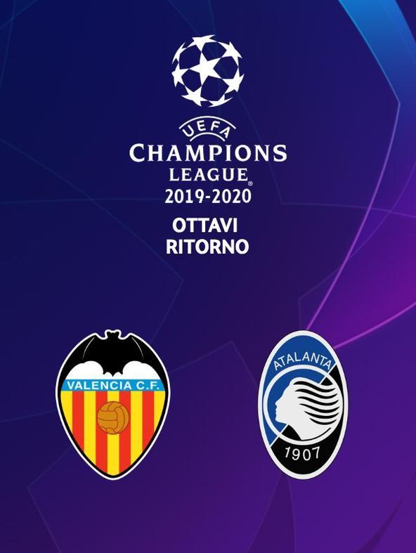 Valencia - Atalanta. Ottavi Ritorno