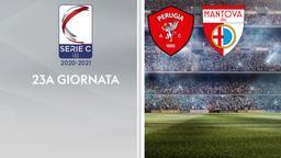 Perugia - Mantova. 23a g.