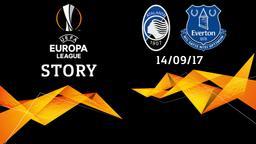Atalanta - Everton 14/09/17. 1a g.