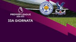 Leicester - Crystal Palace. 33a g.