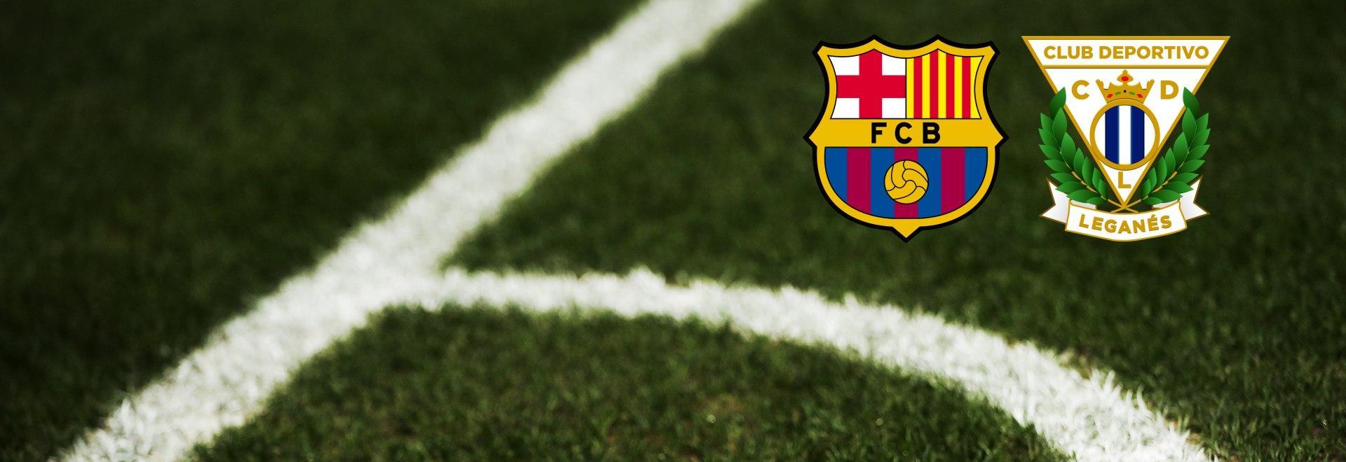Barcellona - Leganes. 29a g.