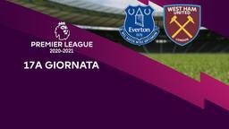 Everton - West Ham United. 17a g.