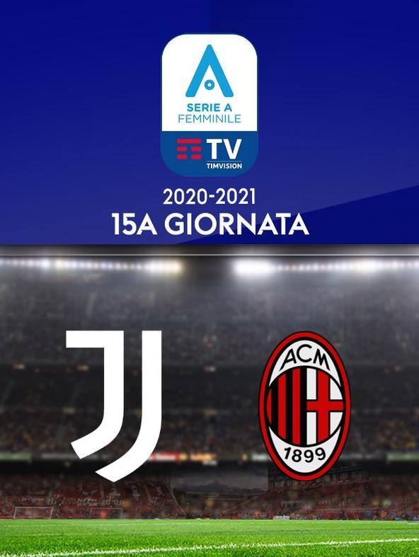 Juventus - Milan. 15a g.