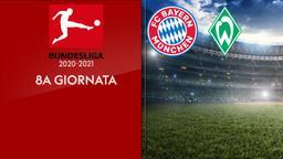 Bayern Monaco - Werder Brema. 8a g.