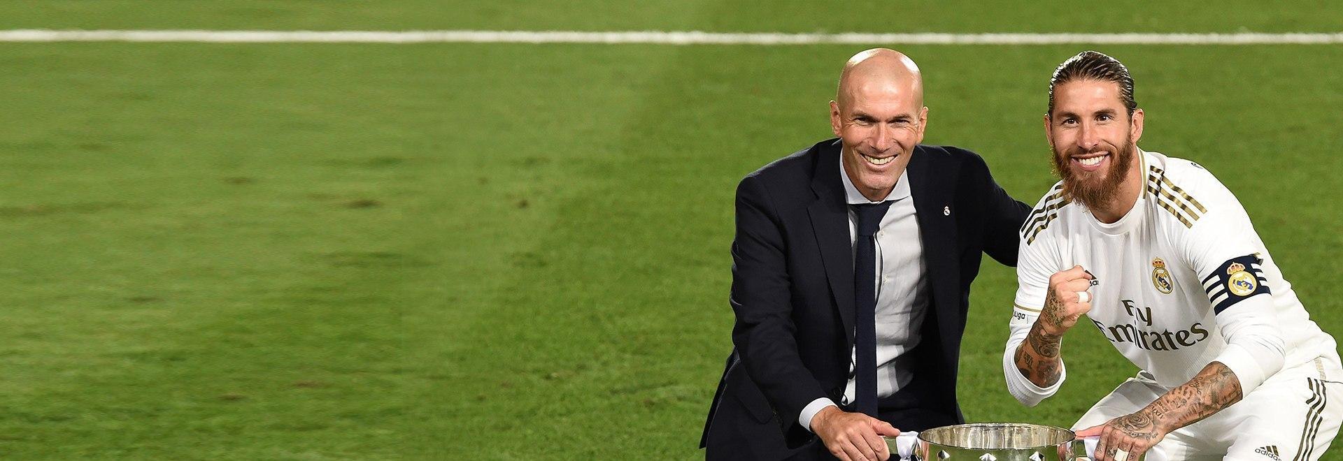 Zidane, la Liga più speciale