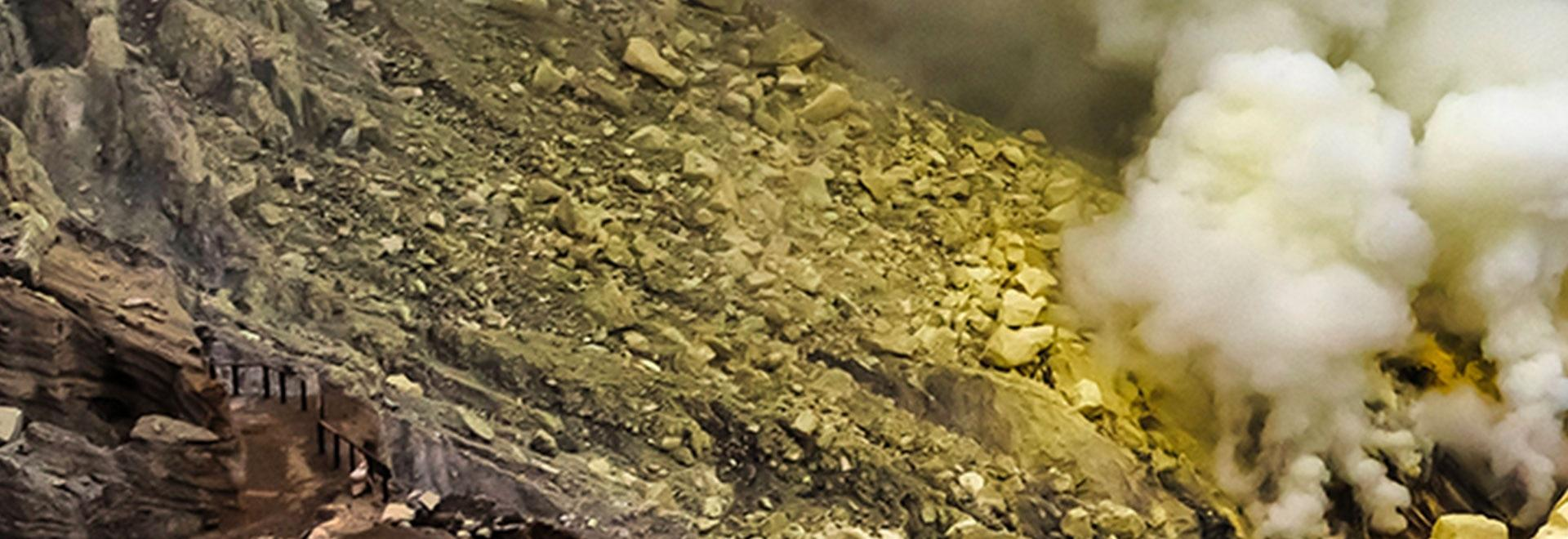 Sulle tracce di un vulcano
