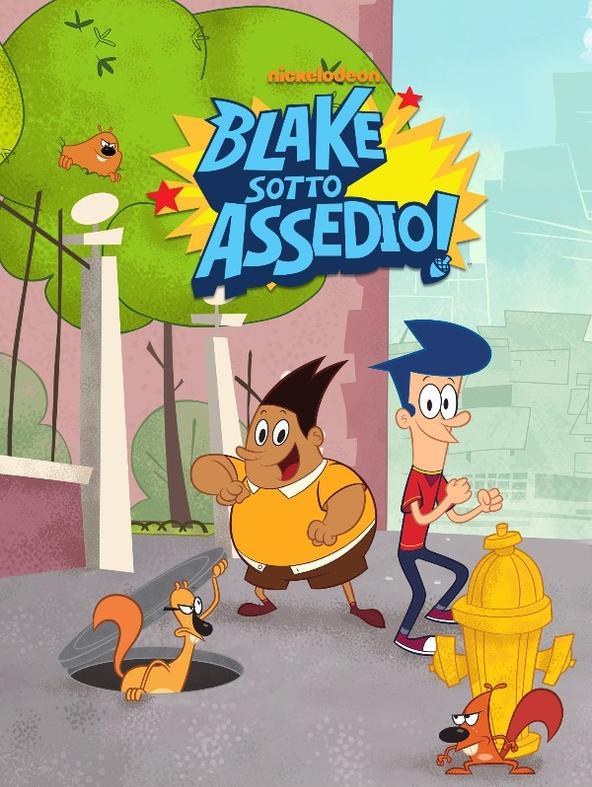 Blake in piscina / Blake-Robot