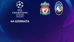 Liverpool - Atalanta. 4a g.