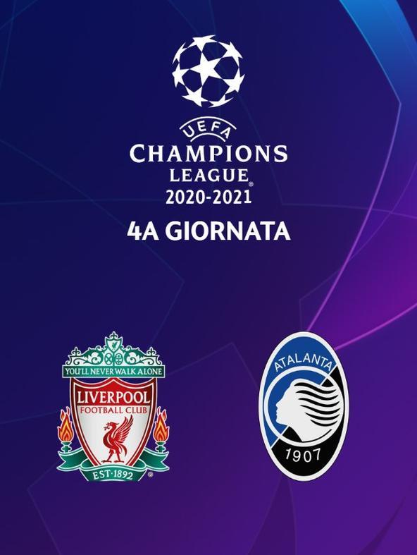 Liverpool - Atalanta. 4a g.   (diretta)