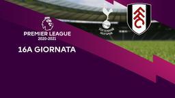 Tottenham - Fulham. 16a g.
