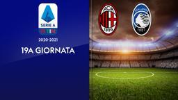 Milan - Atalanta. 19a g.