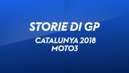 Catalunya, Barcellona 2018. Moto3. Gara