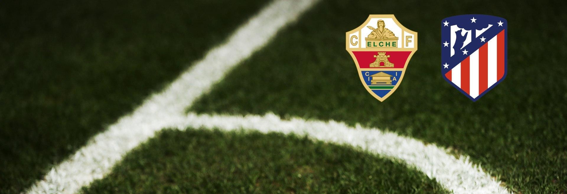 Elche - Atlético Madrid. 34a g.