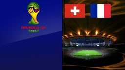 Svizzera - Francia. Gruppo E. 2a giornata