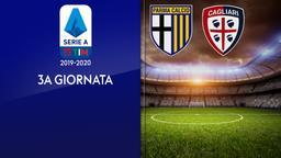 Parma - Cagliari. 3a g.