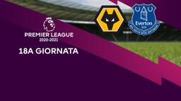 Wolverhampton - Everton. 18a g.