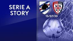 Sampdoria - Cagliari 15/07/20