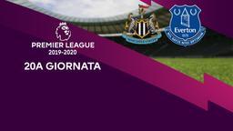 Newcastle - Everton. 20a g.