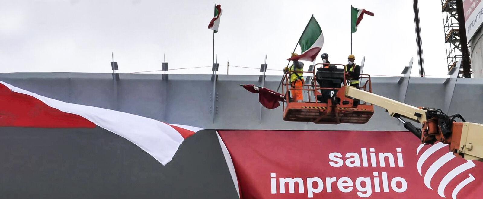 Il nuovo ponte di Genova: orgoglio..
